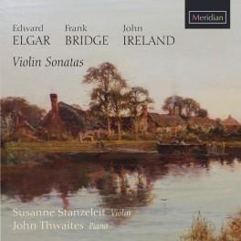 Elgar - Bridge & Ireland : Sonates pour violon