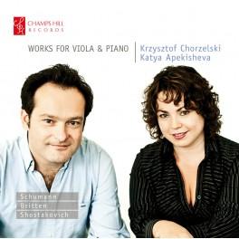 Britten - Schumann - Chostakovitch : Oeuvres pour alto et piano