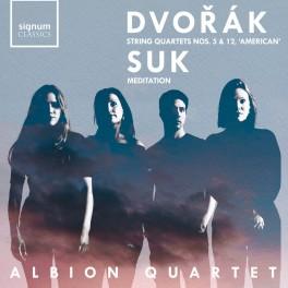 Dvorak - Suk : Quatuors à cordes n°5 & 12 - Meditation