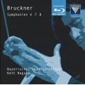 Bruckner : Symphonies n°4, n°7 et n°8 / Blu-Ray Audio