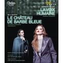 Bartok - Poulenc : Le Château de Barbe-Bleue & La Voix Humaine (BD)