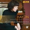Haydn : Variations & Pièces pour piano / Ekaterina Derzhavina