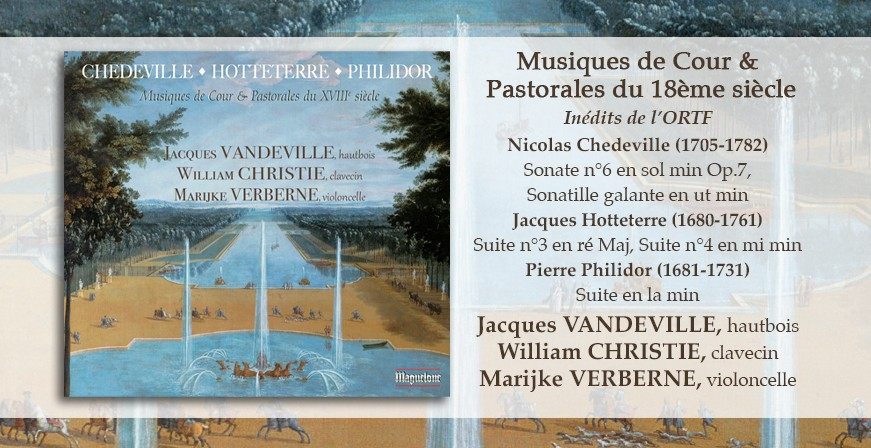 Musiques de Cour & Pastorales du 18ème siècle / Inédits de l'ORTF