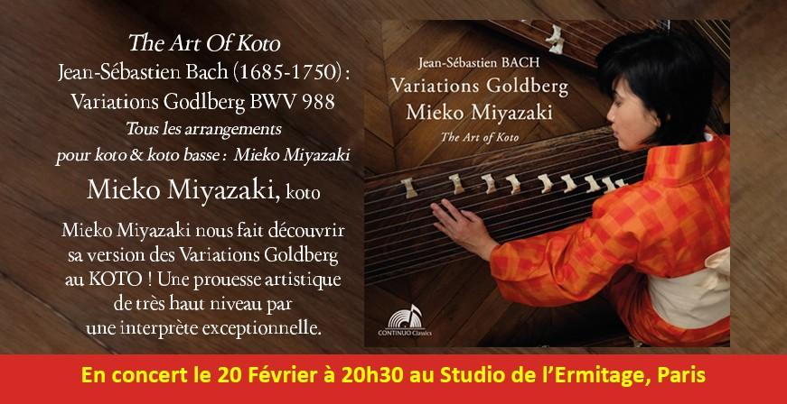 Bach : Variations Godlberg - The Art Of Koto