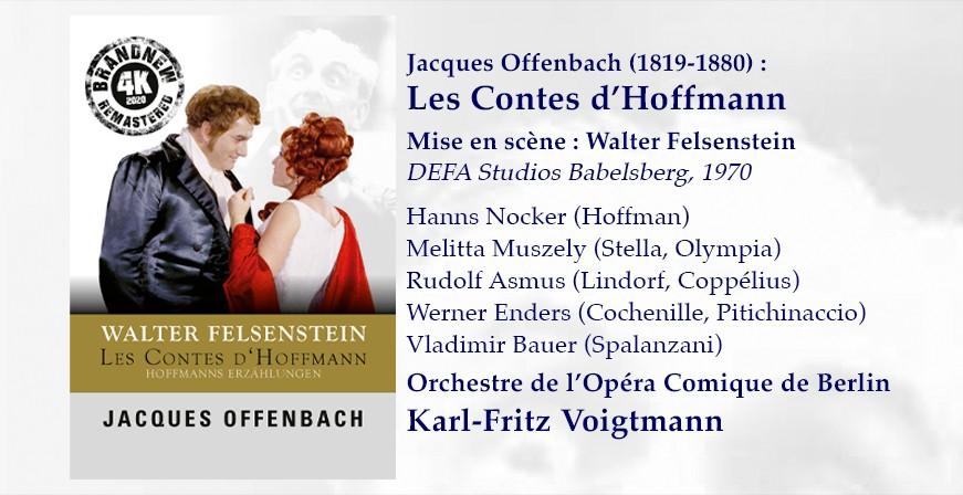 Offenbach : Les Contes d'Hoffmann / DEFA Studios, 1970