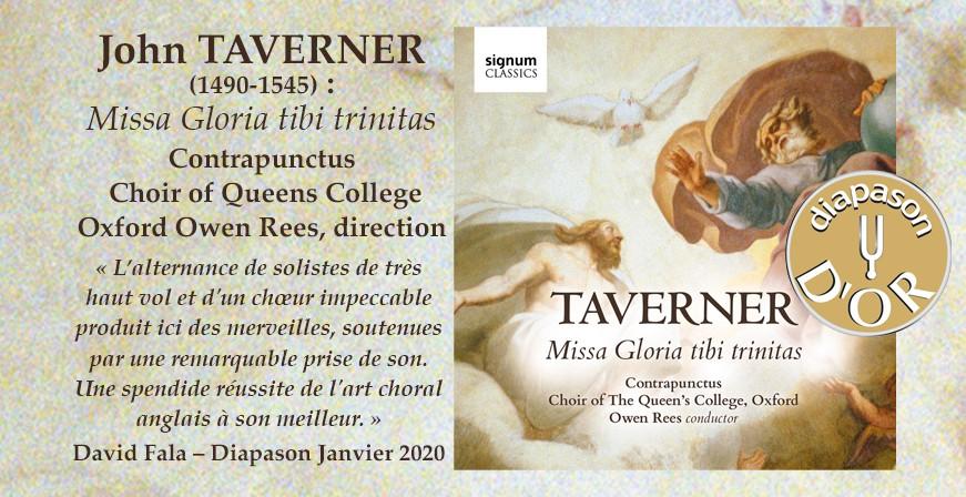 Taverner, John : Missa Gloria tibi trinitas