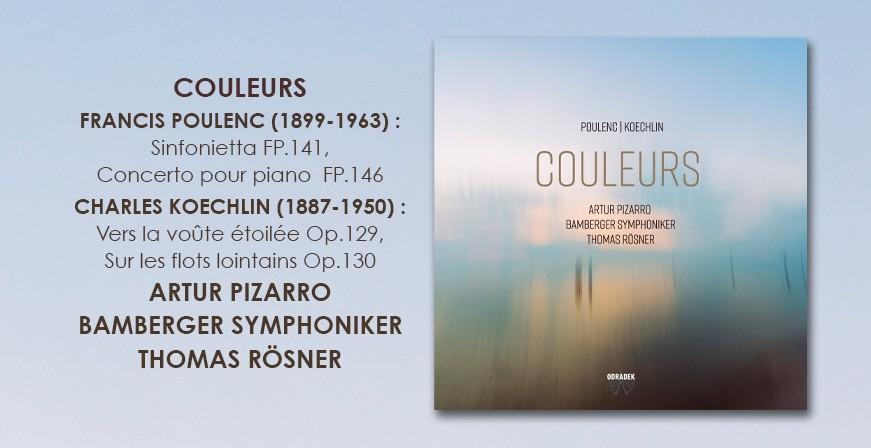 Poulenc - Koechlin : Couleurs / Artur Pizarro