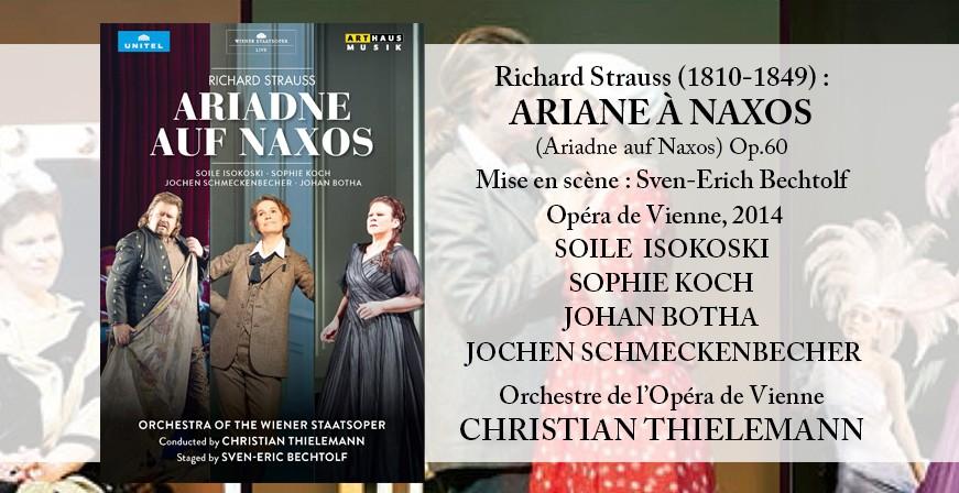 Strauss, Richard : Ariane à Naxos / Opéra de Vienne, 2014