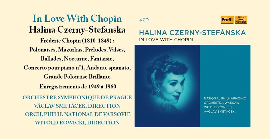 In Love With Chopin / Halina Czerny-Stefanska