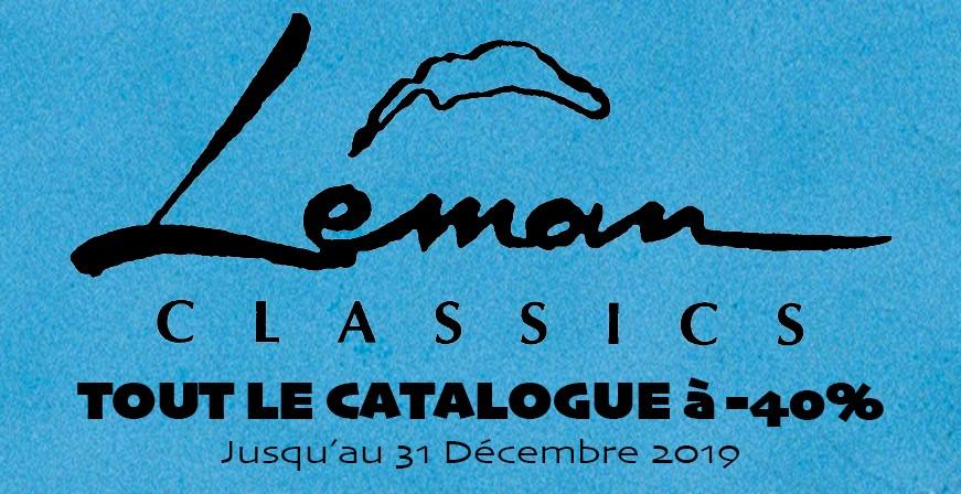 Baisse de Prix sur tout le catalogue Léman Classics