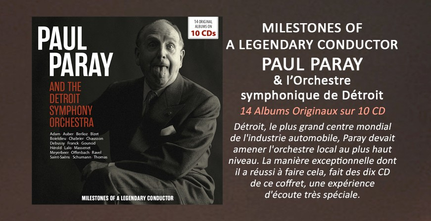 Milestones of a Legendary Conductor / Paul Paray