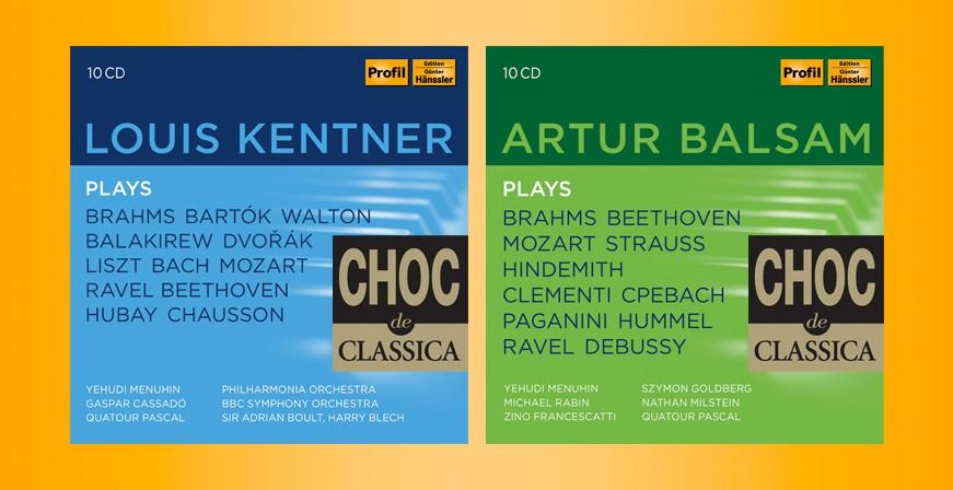 Arthur Balsam & Louis Kentner - Choc Classica